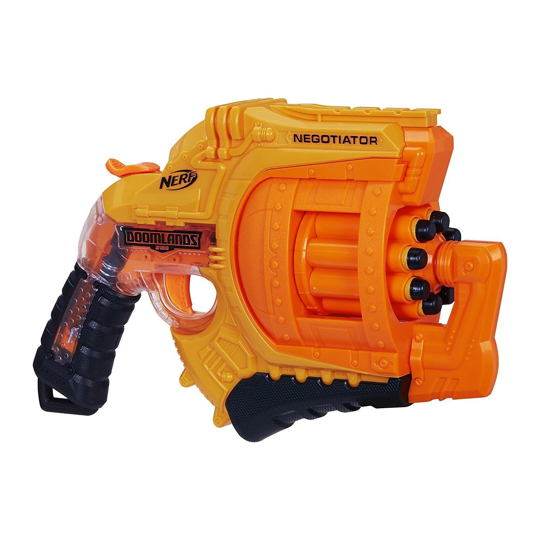 Купить Бластер Nerf  Думлэндс Посредник 2169 Negotiator  B8572 (Nerf Doomlands 2169 Negotiator Blaster) от