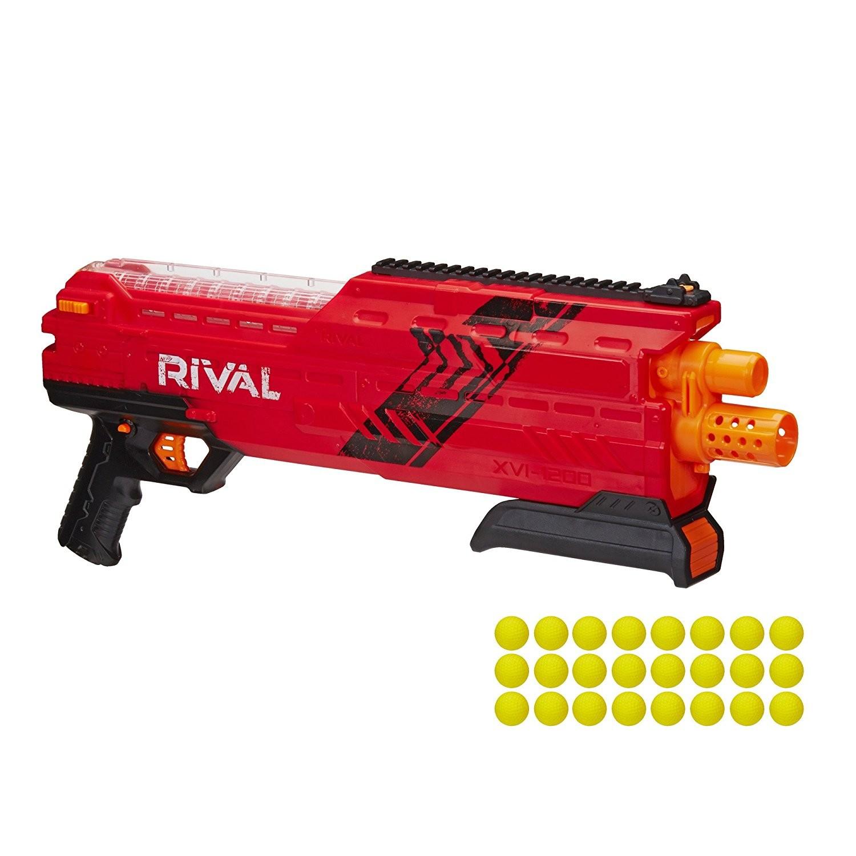 Купить Бластер Nerf Райвал Атлас XVI-1200 красный B3857/B3856 (Nerf Rival Atlas XVI-1200 Blaster red) от