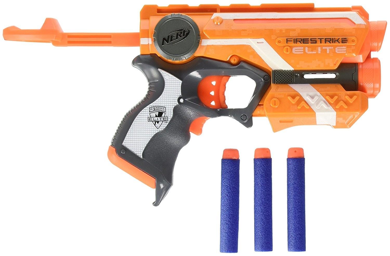 Купить Бластер Nerf Н-Страйк Элит Файрстрайк 53378 (Nerf N-Strike Elite Firestrike Blaster) от