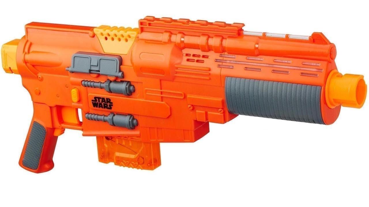 Купить Бластер Nerf Сержант Джин Эрсо B7763 (Star Wars Nerf Sergeant Jyn Erso Deluxe Blaster) от