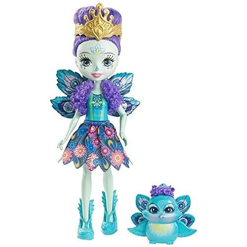 Купить Кукла Энчантималс Павлина Пэттер и Флэп (Enchantimals Patter Peacock Doll with Flap) от