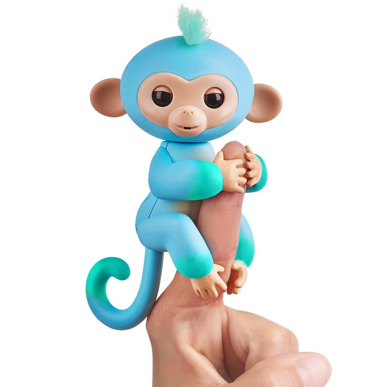 Купить WowWee Fingerlings Интерактивная ручная обезьянка Чарли (Fingerlings Interactive Baby Monkey Charlie) от