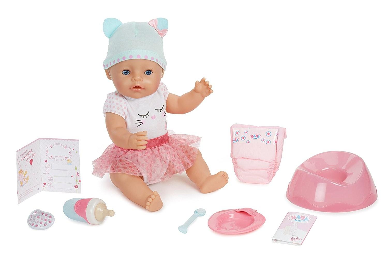 Купить Кукла Беби Борн Голубоглазая малышка (Baby Born Blue Eyes Interactive Doll) от